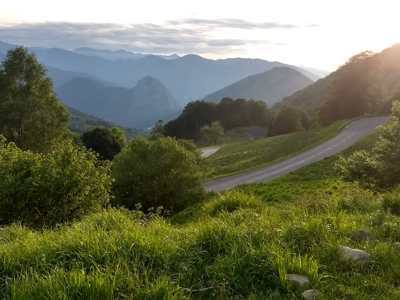 A 4-day bike tour through the French part of the Pyrenees called Occitania. This was the most grueling riding I have ever done, with 6000m of climbing, 240km, mud, rain, freezing and fog on most of the days. But the scenery when the skies cleared!