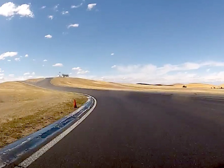 Track driving: inching closer to the limits, without crossing them because it will hurt you, all the while keeping your fear in check. Plenty opportunities for personal improvement.